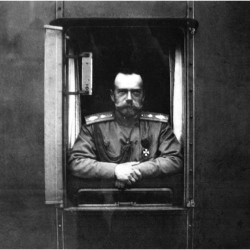 Николай II 1917 год.